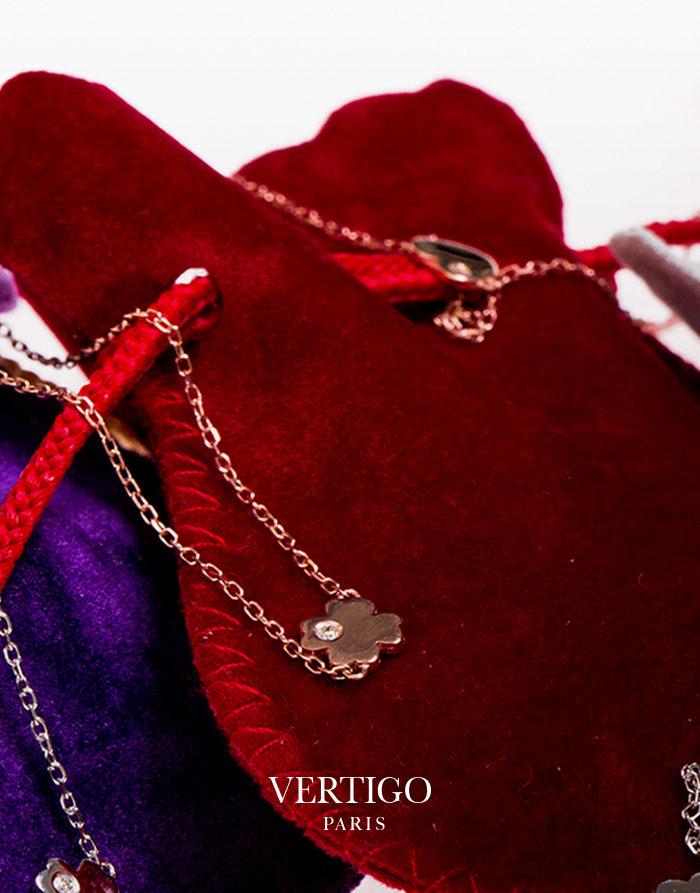 Bracelet Lucky Me Or rose